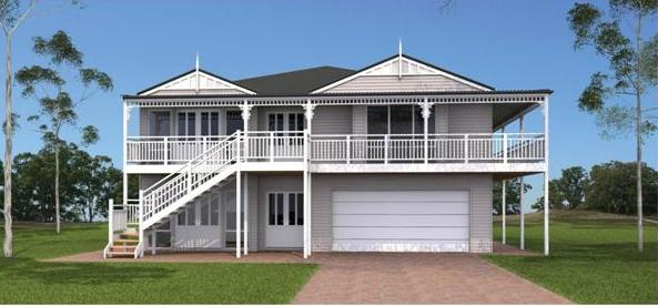 Double storey country kit homes australia for 2 story home kits